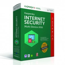 Kaspersky Internet Security 2016 (2 postes / 1 an)